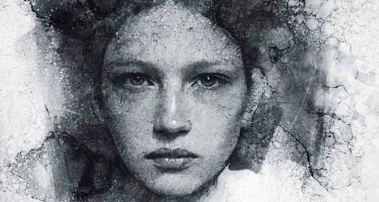 Учимся рисовать портрет углем с Кейси Бо