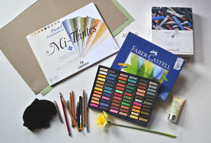 живопись, искусство, пастель, техника рисования, как рисовать, сухая пастель, масляная пастель, основы рисования, как рисовать пастелью