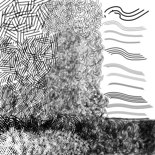 рисунок, штриховка, как штриховать