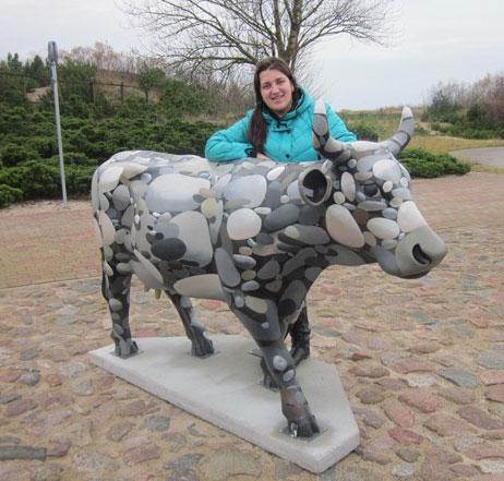корова, арт проект, парад коров, скульптура, роспись, выставка скульптур