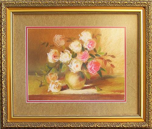 пастель, картина