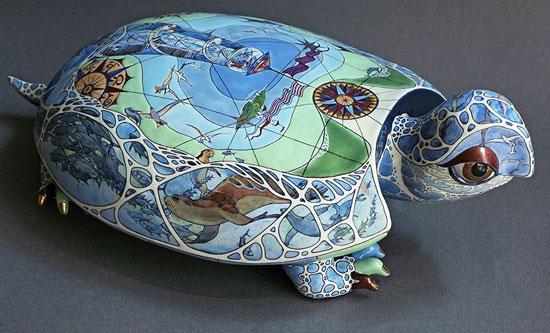 скульптура, графика, роспись по керамике