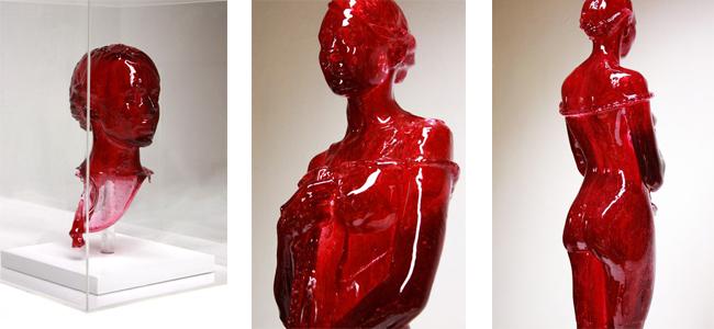 sweet, sculpture, oseph marr, скульптура, сладости, леденец, женщина