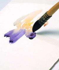 акварель, рисуем акварелью, рисуем поэтапно, уроки рисования, уроки рисования акварелью, рисунки, картинки, искусство, живопись