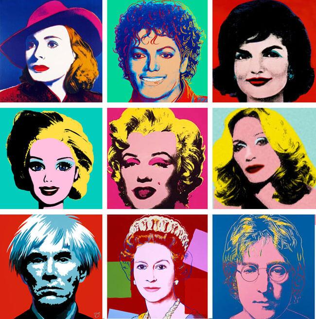 энди уорхол, енді ворхол, поп-арт, искусство, дизайн, современное искусство, полиграфия