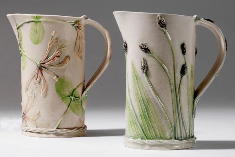 Флористика/керамика в творчестве Сью Данн