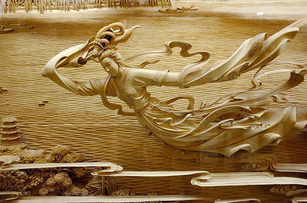 dongyang, резьба, резьба по дереву, дерево, китай, китайская резьба, панно, скульптура