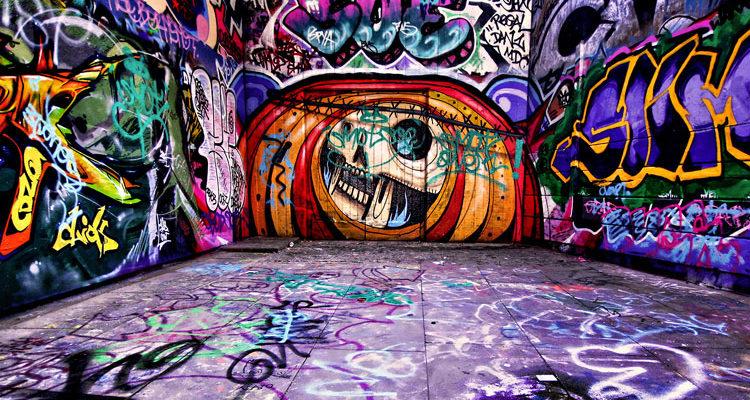 Граффити — искусство хип-хоп культуры
