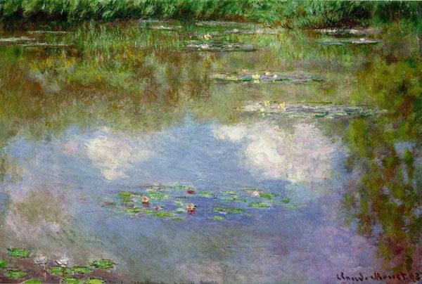 клод моне, художник, творчество, биография, картины, импрессионизм, природа, цветы
