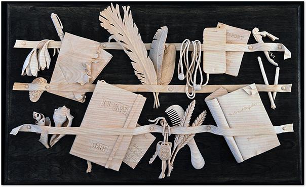 резьба, резьба по дереву, художник, скульптор, цветы, натюрморт, дерево, David Esterly