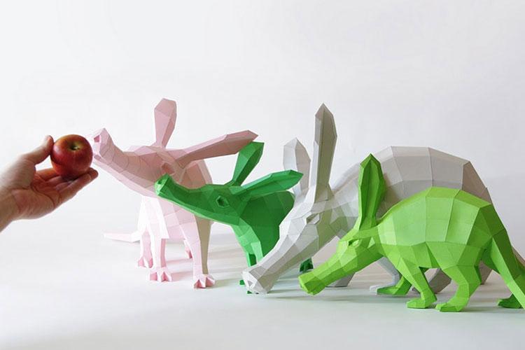 Бумажный зоопарк Волфрама Кампфмейера