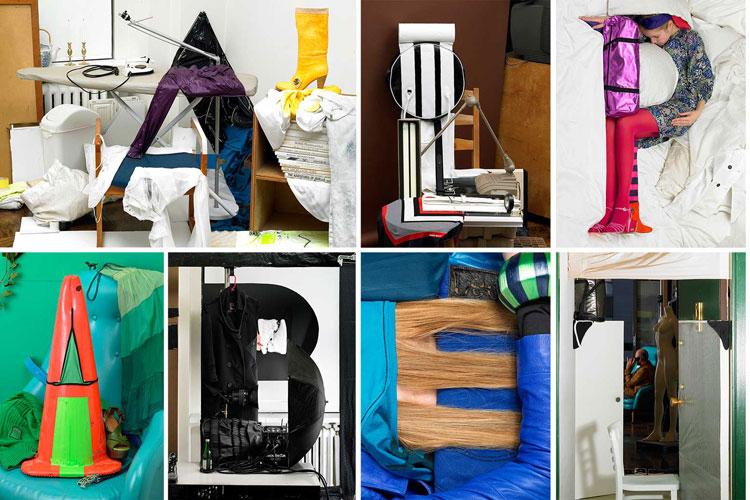 Алфавит у фотографиях Бела Борсоди