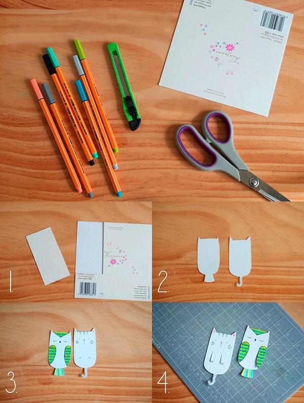 закладки, закладки для книг, своими руками, самоделки, поделки, поделки из бумаги, хендмейд, хенд мейд идеи, handmade, креатив, мастер класс