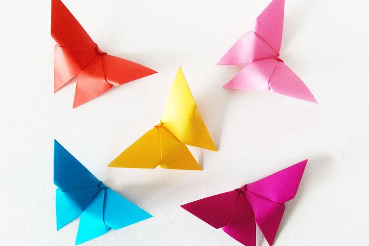 Бабочка-оригами