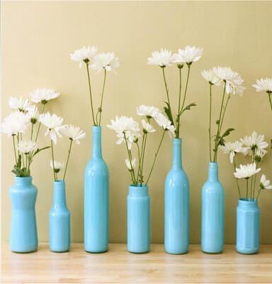 бутылка, стекло, стеклянная бутылка, поделки, своими руками, креатив, ваза, лампа, абажур, подсвечник