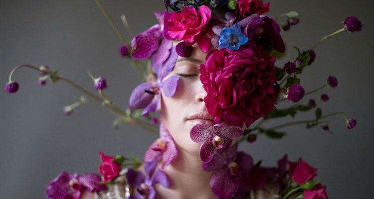Цветочные портреты Кристен Хаджи