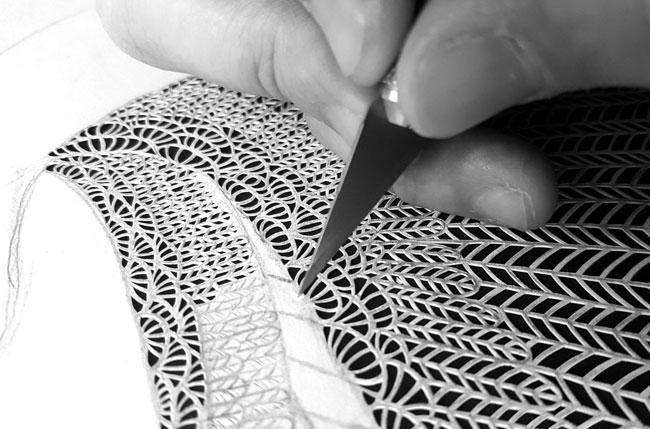 Мод Уайт, Maude White, художник, скульптура, искусство, бумага, поделки из бумаги, вытынанка, иллюстрации, ажурность, ажур