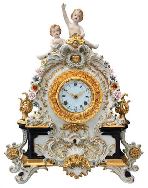 антиквариат, часы, антикварные часы, фарфор, антикварные фарфоровые часы, каминные часы, декор, декор интерьера, классика, классический стиль, старинное, искусство, красиво, красивые картинки