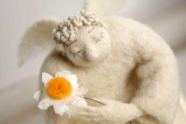 Игрушки с войлока от Felt Art By Mariana
