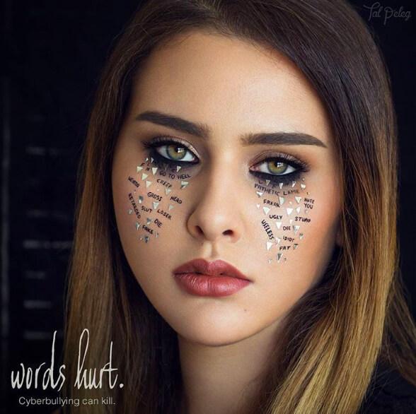 makeup, художница, мейк, макияж, визаж, искусство, красота, макияж век