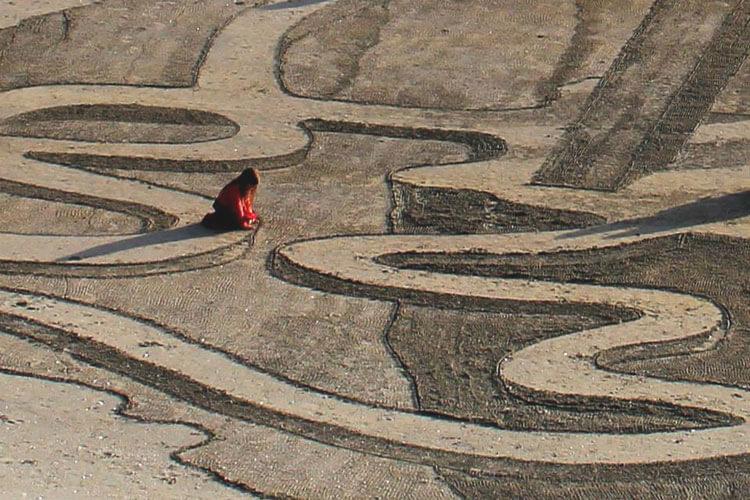 3д-рисунки на песке