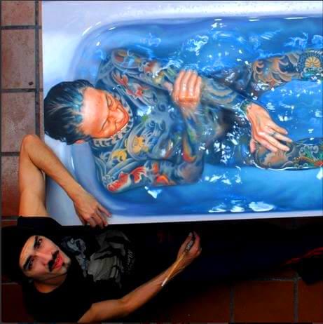 Густаво Сильва Нуньес, Gustavo Silva Nunez, художник, гиперреализм, 3д, картины, вода, морское, искусство, современное искусство