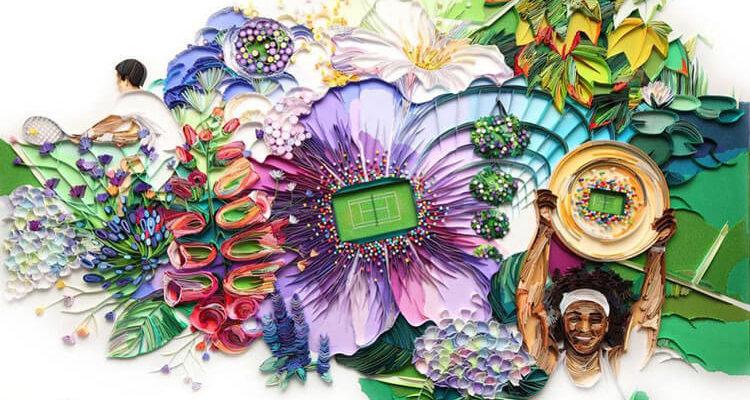 Квиллинг-иллюстрации Юлии Бродской