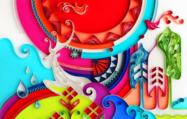 квилинг, бумага, поделки из бумаги, хендмейд, своими руками, handmade, декор, иллюстрации, художник