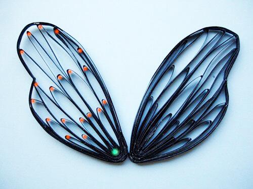 бабочка, квилинг, хендмейд, handmade, поделки, поделки из бумаги, бумага, мастер класс, уроки, как сделать