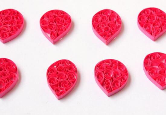 лотос, цветок, цветок лотоса, поделки, поделки из бумаги, квилинг, хендмейд, handmade,
